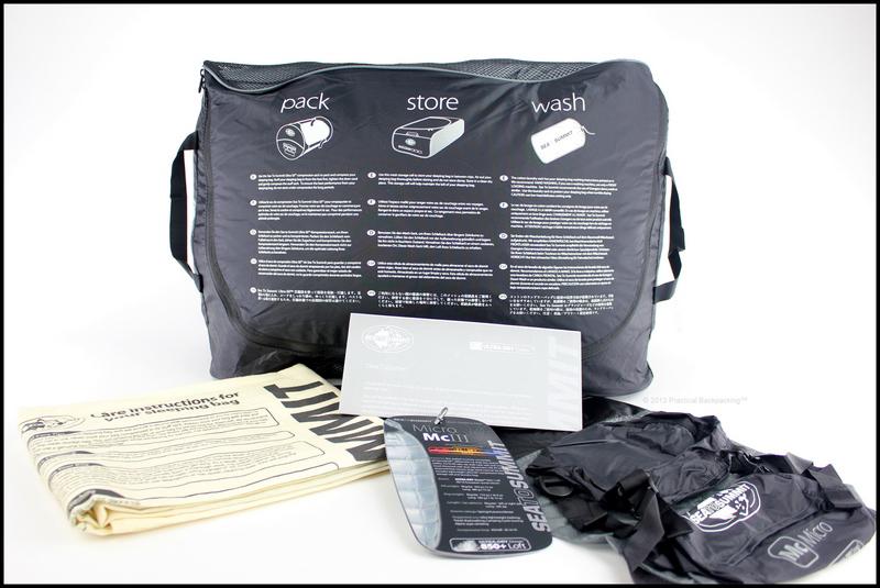 Micro McIII Sleeping Bag