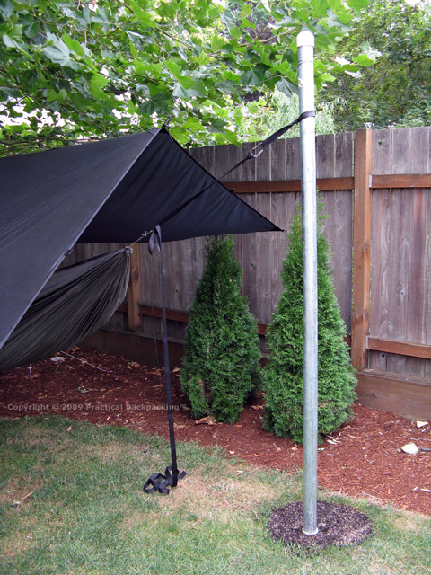 Backyard Hammock Testing Stand  Practical Backpacking? Report