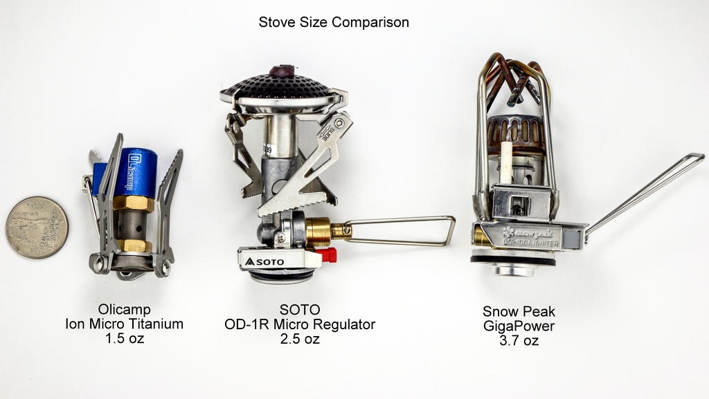 Backpacking Stove Comparison