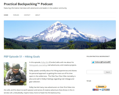 Practical Backpacking� Podcast
